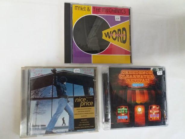 Pop/Rock- Mike&The Mechanics, Billy Joel,Creedence Clearwater Revival