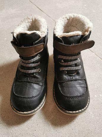 Buty jesienno-zimowe ocieplane