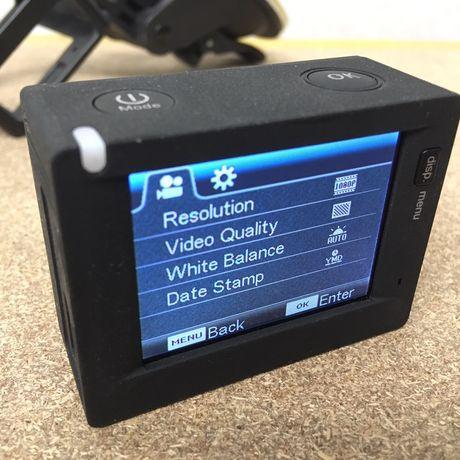 Kamerka sportowa full HD wifi + akcesoria