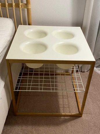 IKEA Stolik/szafka nocna/kwietnik - 2 szt