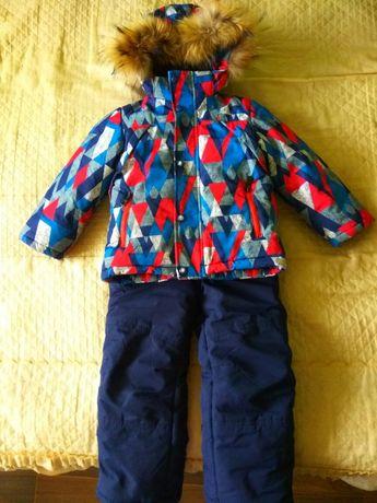 Зимний костюм, комбинезон и курточка на мальчика