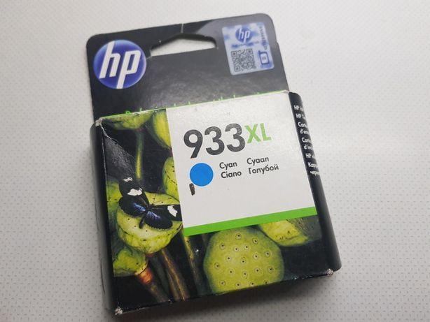 Новый картридж HP 933 XL Cyan (CN054AE) Original
