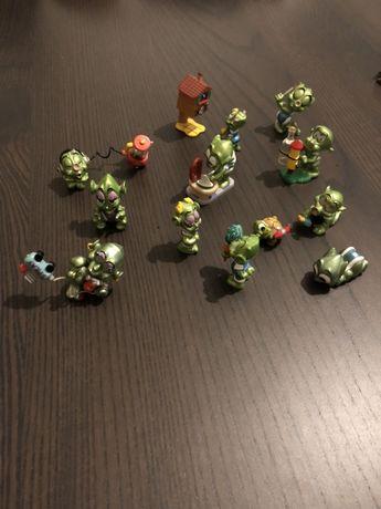 Coleção Kinder Super Spacy Alien Green