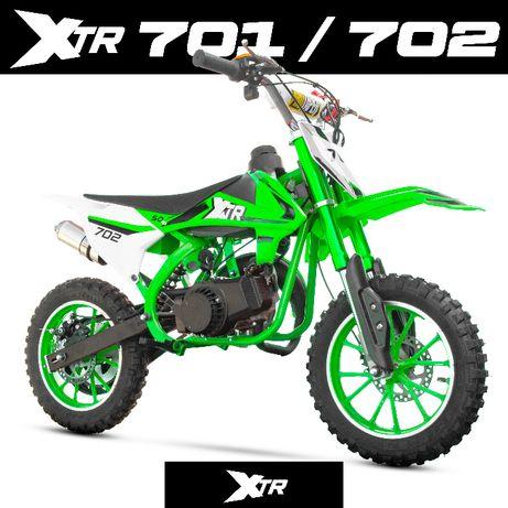 MINI CROSS XTR 701 XTR 702 50cc 2suw rozrusznik koła 10 dostawa