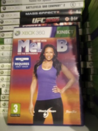 Xbox360 kinect get fit with mel b