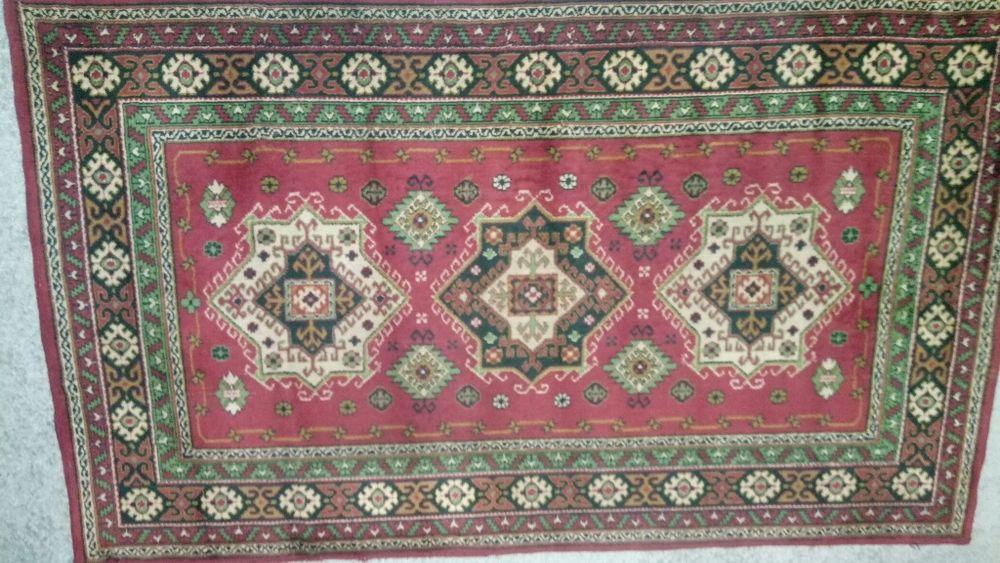 Бабушкин шерстяной ковёр 240*145 Чабаны - изображение 1