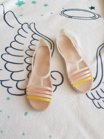 Sandały. R. 36 a'la crocs Isabelle gumowe sandałki