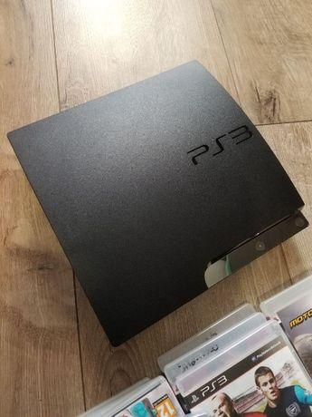 Playstation 3 консоль, джойстик, диски PS3