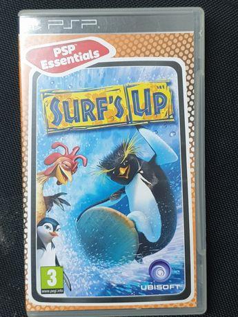 Jogo da PSP surf's up, em bom estado.