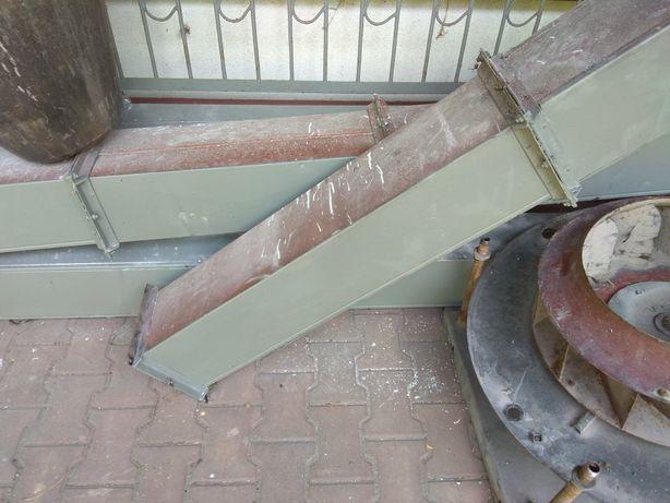 Tunel wentylacyjny kanał przewód rura komin wyciąg części