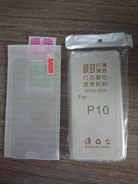 Etui i szkło do Huawei p10