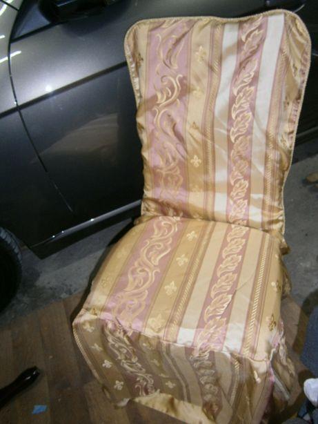 Чехлы накидки на стулья табуреты
