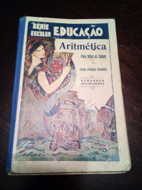 Livro de Aritmética, anos trinta