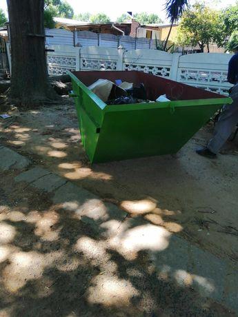 Najtaniej kontener na gruz, śmieci. Wywóz odpadów, mebli, złomu.