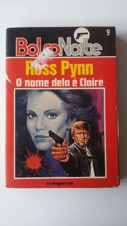 """Livro """"O nome dela é Claire"""" de Ross Pynn"""
