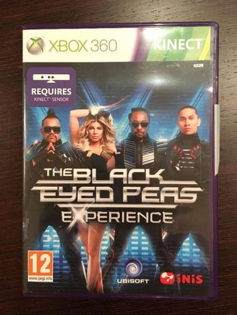 Игра XBOX оригинал The Black Eyed Peas Experience