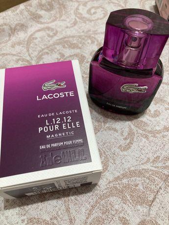 Духи Lacoste L.12.12 Pour Elle Magnetic оригинал