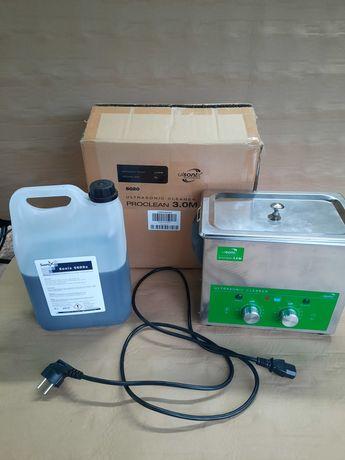 Myjka ultradźwiękowa 120 W Ulsonix plus płyn czyszczący