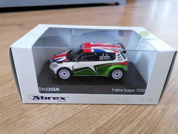 Skoda Fabia II S2000 Abrex 1:43 - NOWY RARYTAS