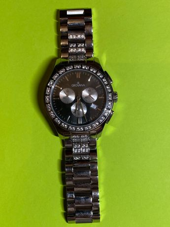 Часы Grovana 2096.9 Sapphire Chrono Swiss Made