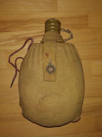 Фляга баклага военная солдатская СССР с чехлом