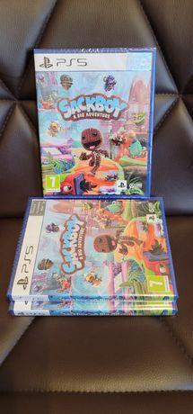 Продам игру для PlayStation 5, Sackboy a big adventure