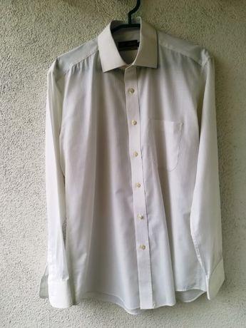 Biała koszula męska Marks & Spencer