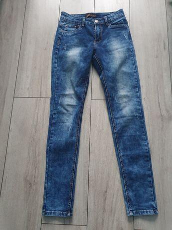 Spodnie damskie jeansy