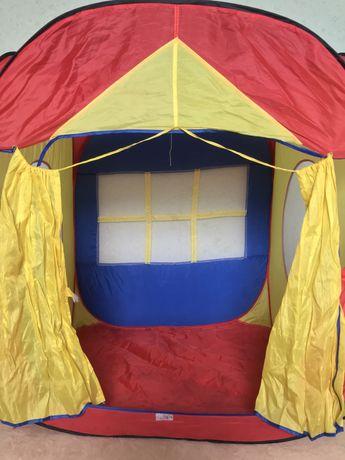 Палатка домик детская игрушечная