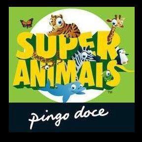 Cartas Super animais 1 e 2 e Super desportos (Pingo Doce)