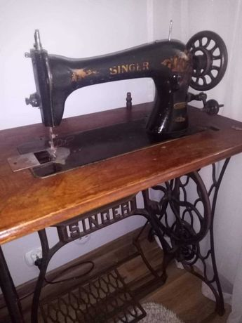 Maszyna do szycia singer 16k33 rok produkcji 1901 z podstawą