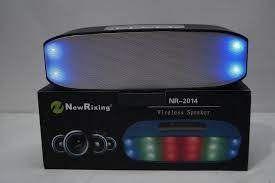 Портативная колонка New Rixing NR-2014 черная,новая.