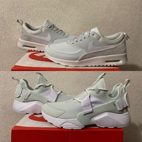 Nike Air Max Thea \ Huarache City оригинал р 39 40 new кроссовки белые