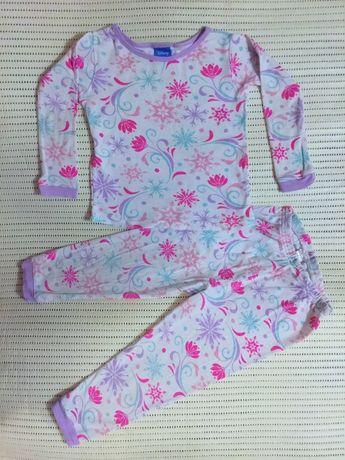 Красивейшая пижама в снежинки Frozen Disney Холодное Сердце