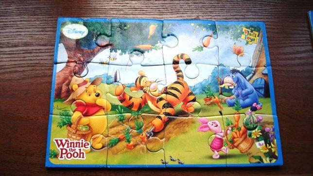 Развивающие игры, пазлы для малышей 2+, 3 набора на поролоне.
