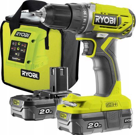 Ryobi R18DD2-220S Wkretarka 18V 2x2Ah