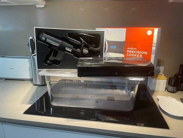 Sous Vid - Kit - Com caixa profissional + Máquina de Embalar a Vácuo