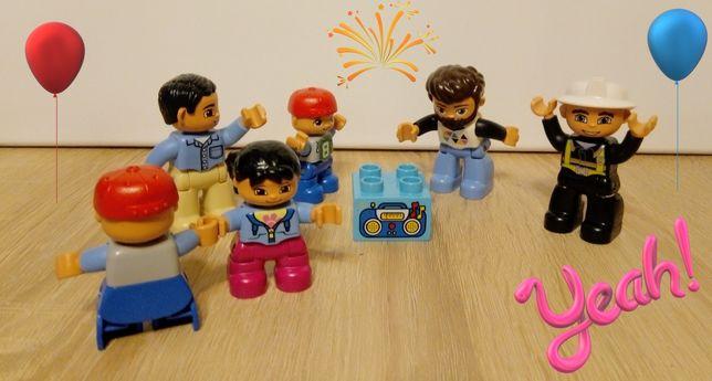 Ludziki Figurki LEGO Duplo lubiące dobrą zabawę :) /klocki /zestaw