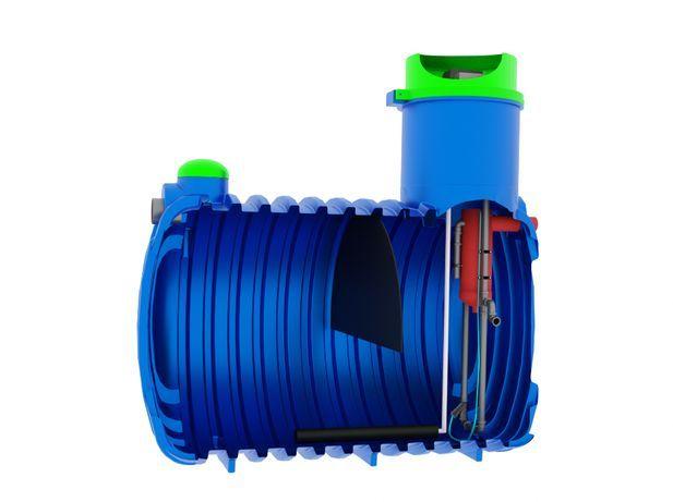 Oczyszczalnia biologiczna SBR Soft 2000L dla 2-4 osób