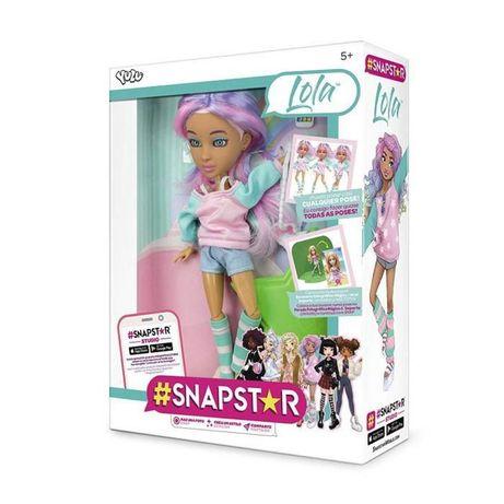 Шарнирная Кукла Snapstar Lola Лола с аксессуарами Снапстар