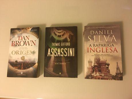 Livros Vários- Policiais e Espionagem