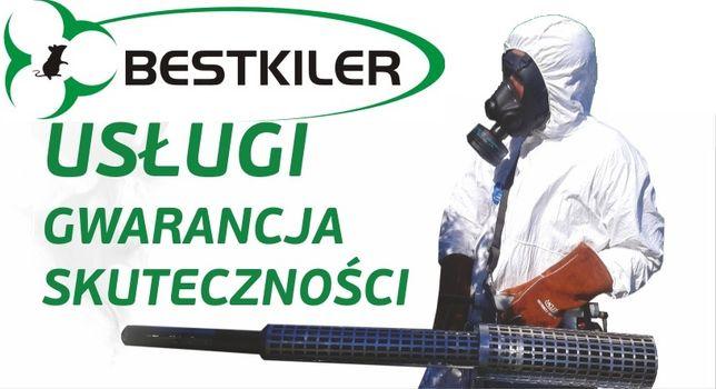 Dezynfekcja dezynsekcja deratyzacja ozonowanie gazowanie zboża pluskwy