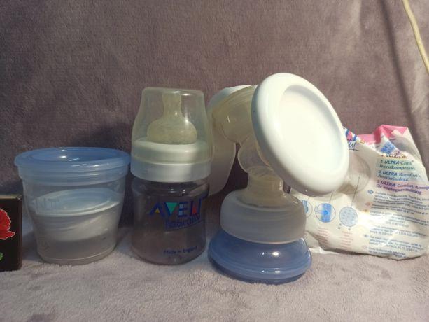 Молокоотсос Avent в подарок паровый стерилизатор