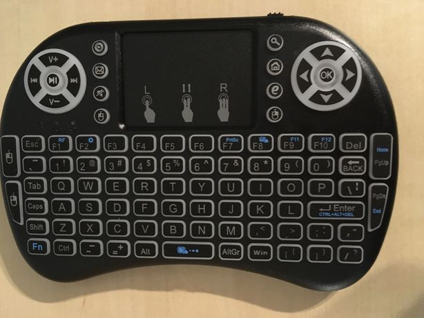 Klawiatura podświetlana smart tv