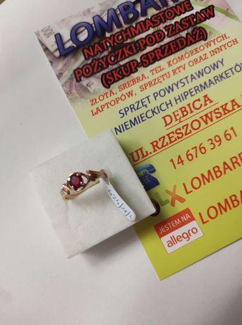Złoty pierścionek PR.585 Waga 2,50g r.16 ! Lombard Dębica