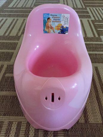 Горшок дитячий розовий