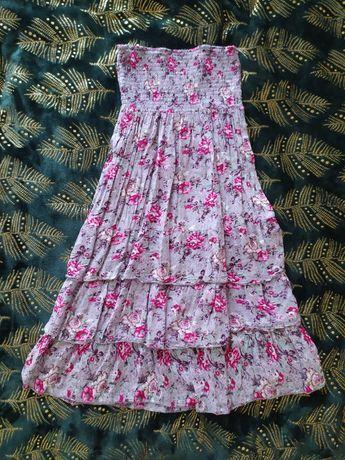 NOWA Sukienka w kwiaty r. M