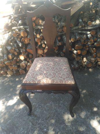 Cadeiras de madeira estilo Anne Queen