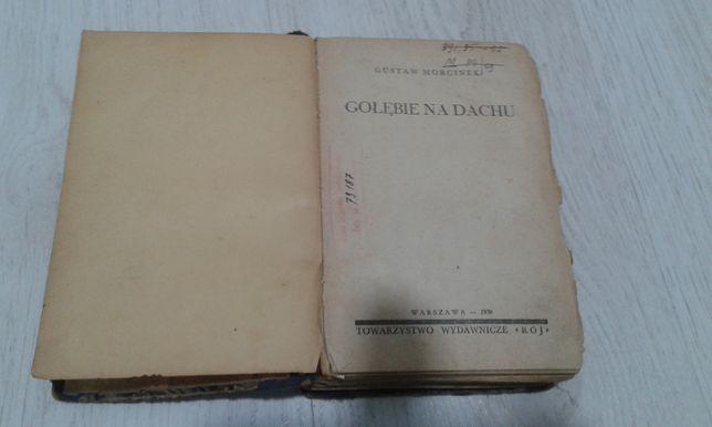 Książka G. Morcinka Gołębie na dachu 1936