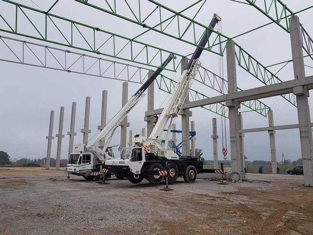 Usługi dźwigowe żurawiem samojezdnym. Dźwigi 30 i 40 ton.